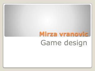 Mirza vranovic