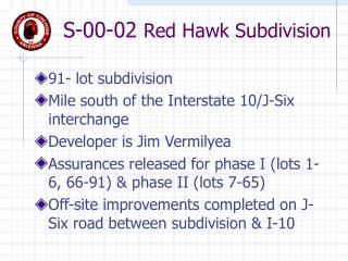 RED HAWK POWERPOINT