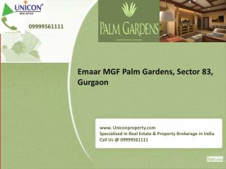 Palm Gardens Gurgaon | 09999561111 | Emaar MGF New Projects