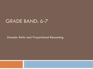 Grade Band: 6-7