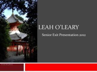 Leah O�Leary