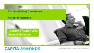 CIH South-East  Conference Insider Influencing