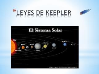 LEYES DE KEEPLER