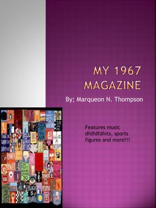 My 1967 magazine