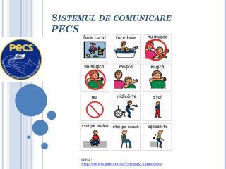 Sistemul de comunicare PECS
