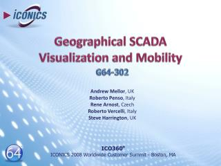Geographical SCADA Visualization and Mobility