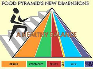 A HEALTHY BALANCE