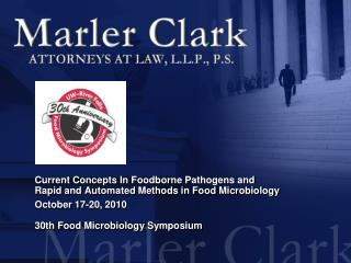 Current Concepts In  Foodborne  Pathogens and  Rapid and Automated Methods in Food Microbiology