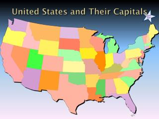 United States and Their Capitals