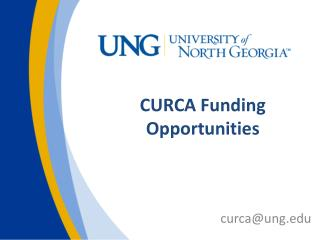 CURCA Funding Opportunities