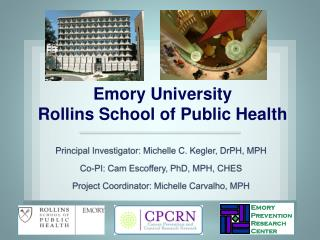 Emory University Rollins School of Public Health