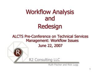 ALCTS Pre-Conference..