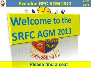 Swindon RFC AGM 2013