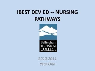 IBEST DEV ED -- NURSING PATHWAYS