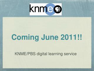 Coming June 2011!!
