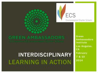 Interdisciplinary  learning in action