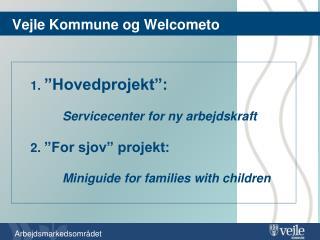 Vejle Kommune og  Welcometo