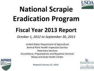 National Scrapie Eradication Program
