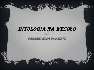 Mitologia na wesoło