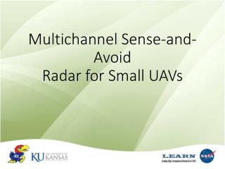 Multichannel Sense-and-Avoid  Radar for Small UAVs