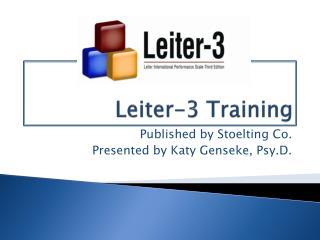 Leiter-3 Training