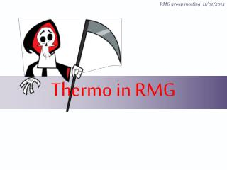 Thermo  in RMG