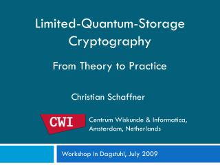 Limited-Quantum-Storage Cryptography From Theory to Practice