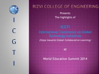 Rizvi  College of Engineering