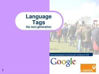 Language Tags the next generation