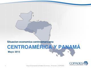 CENTROAMÉRICA y PANAMÁ