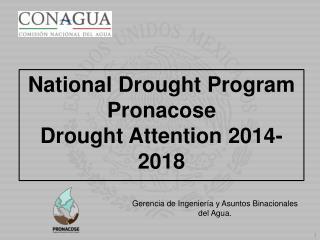 Gerencia  de  Ingeniería  y  Asuntos Binacionales  del Agua .