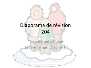 Diaporama de révision 204