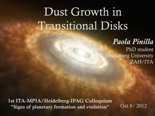Dust Growth in Transitional Disks