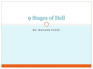 9 Stages of Hell