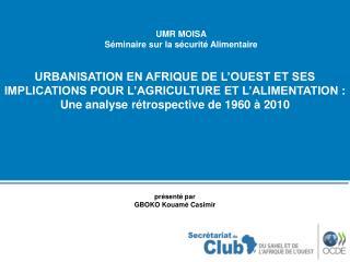 présenté par  GBOKO Kouamé Casimir
