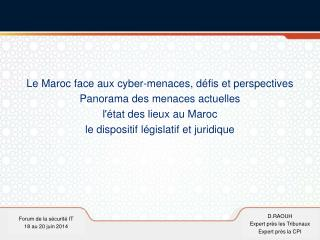 Forum de la sécurité IT 18 au 20 juin 2014