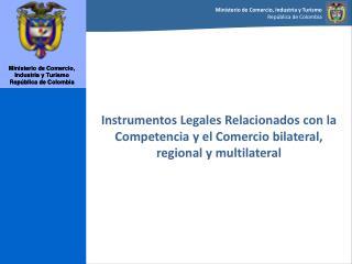 Internacionalización  de Colombia