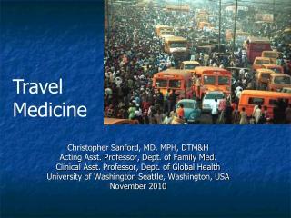 Travel Health PowerPoint Presentation