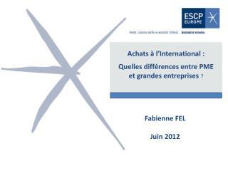 Achats à l'International : Quelles différences entre PME  et grandes entreprises  ?