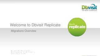 Welcome to Dbvisit Replicate