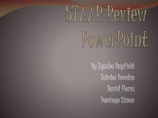 STAAR Review PowerPoint