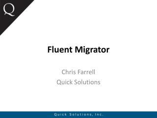 Fluent  Migrator