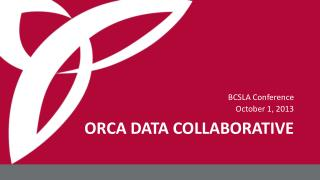 ORCA DATA COLLABORATIVE