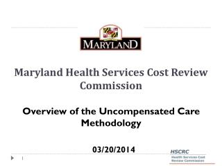 Maryland Health Services Cost Review Commission