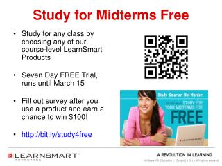 Study for Midterms Free