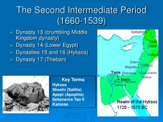 The Second Intermediate Period ( 1660-1539)