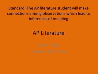 AP Literature