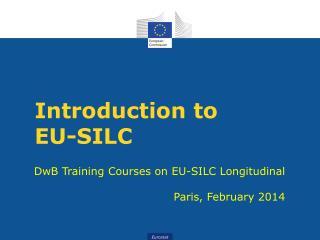 Introduction to  EU-SILC