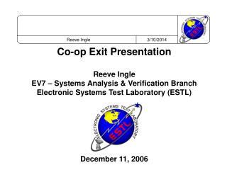 AXAF-I - ESTL Test Results Summary