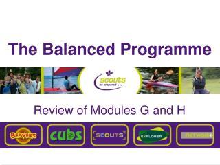 The Balanced Programme